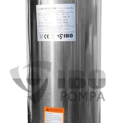 POMPA SUBMERSIBILA PENTRU APE MURDARE SWQ 2200-H